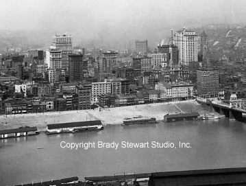 Pittsburgh History:  Evolution of The Point and Skyline 1900-1920 Vol. 1 (3/3)