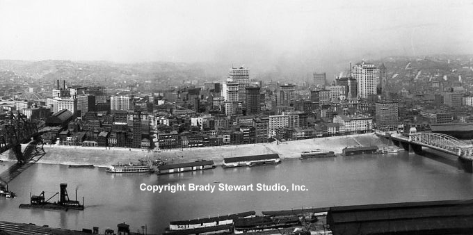 Pittsburgh History:  Evolution of The Point and Skyline 1921-1947 Vol. 2 (1/4)