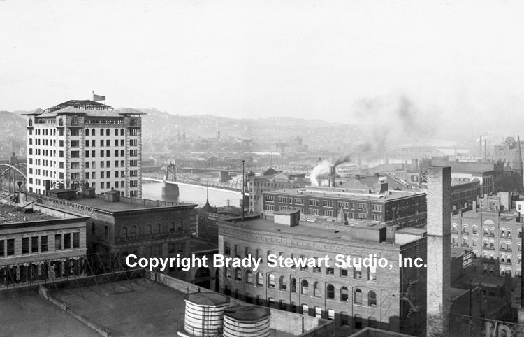 Historical Photographs of the Pittsburgh Skyline - 1904 (4/4)