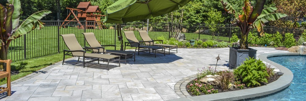 how to clean pavers around pool