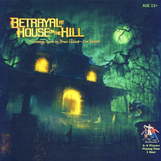​Betrayal at House on the Hill: 2nd edition