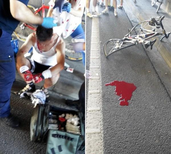 Acidente em Braga - atropelamento na Avenida António Macedo
