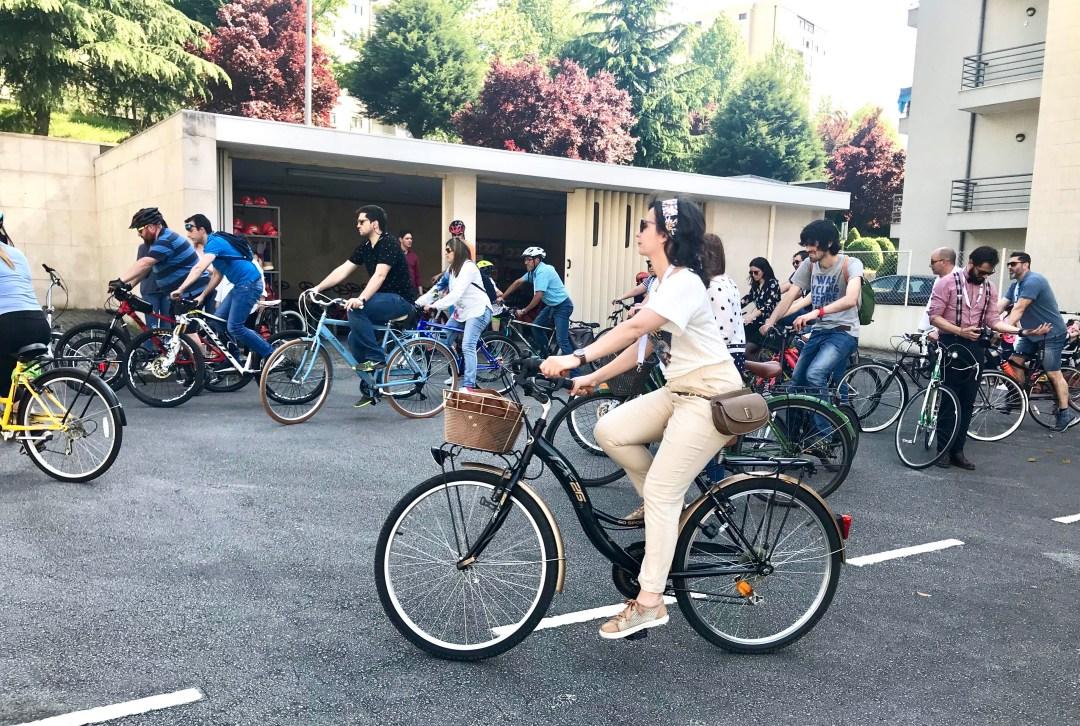 Aspeto de um dos momentos do IV Braga Cycle Chic