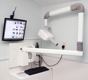 Radiovisography Machine