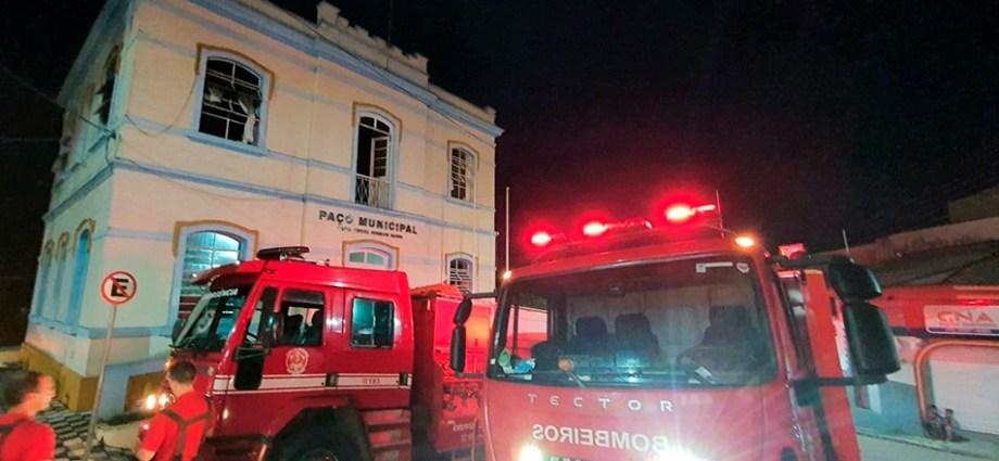 Incêndio atinge Gabinete da Prefeitura de Nazaré