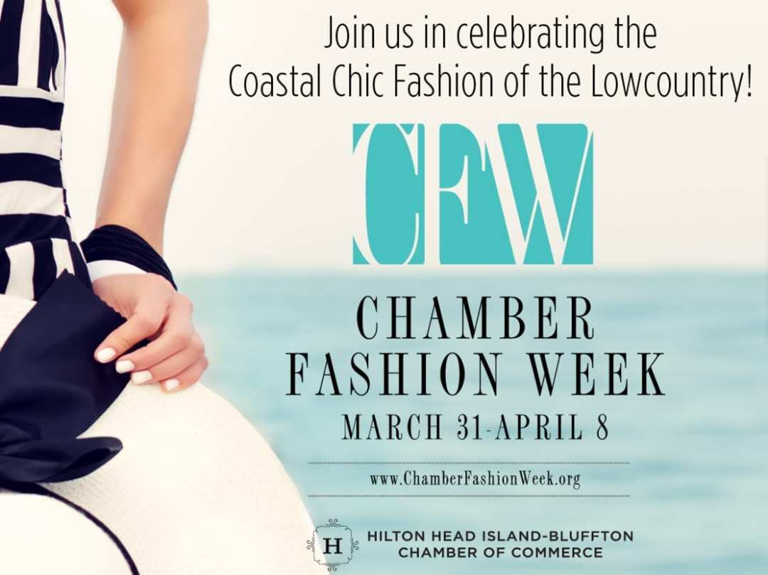 Social Media Graphic for Chamber Fashion Week