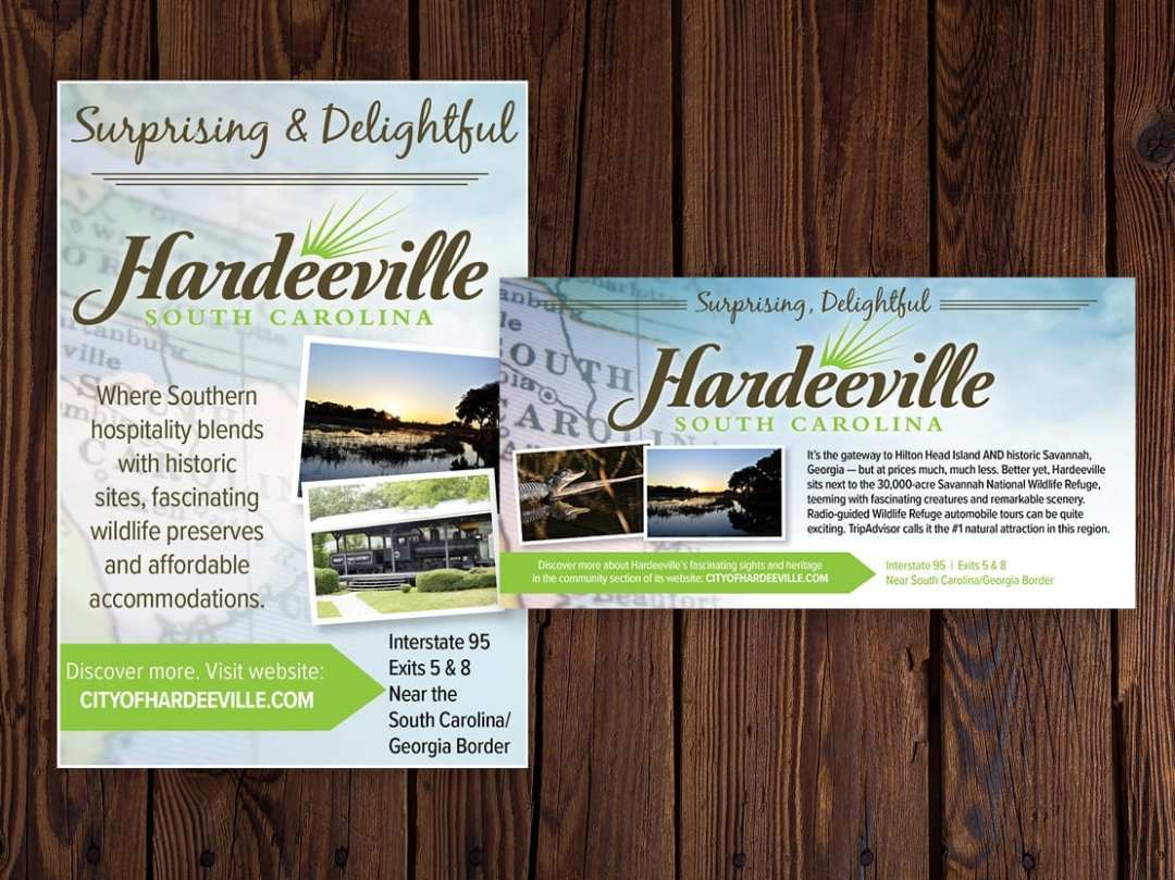Magazine ads for Hardeeville SC