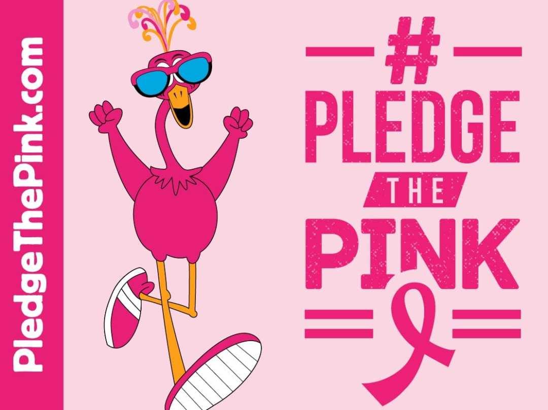 Pledge The Pink Graphic