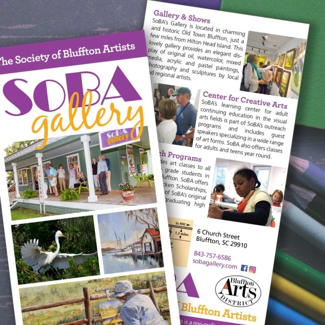 SoBA Rack Card