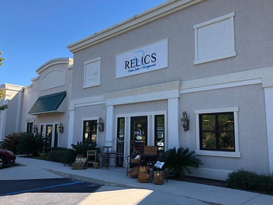 Relics Estate Sales & Consignments on Persimmon in Bluffton SC