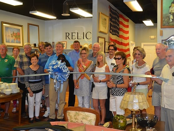 Relics Estate Sales & Consignments Ribbon Cutting