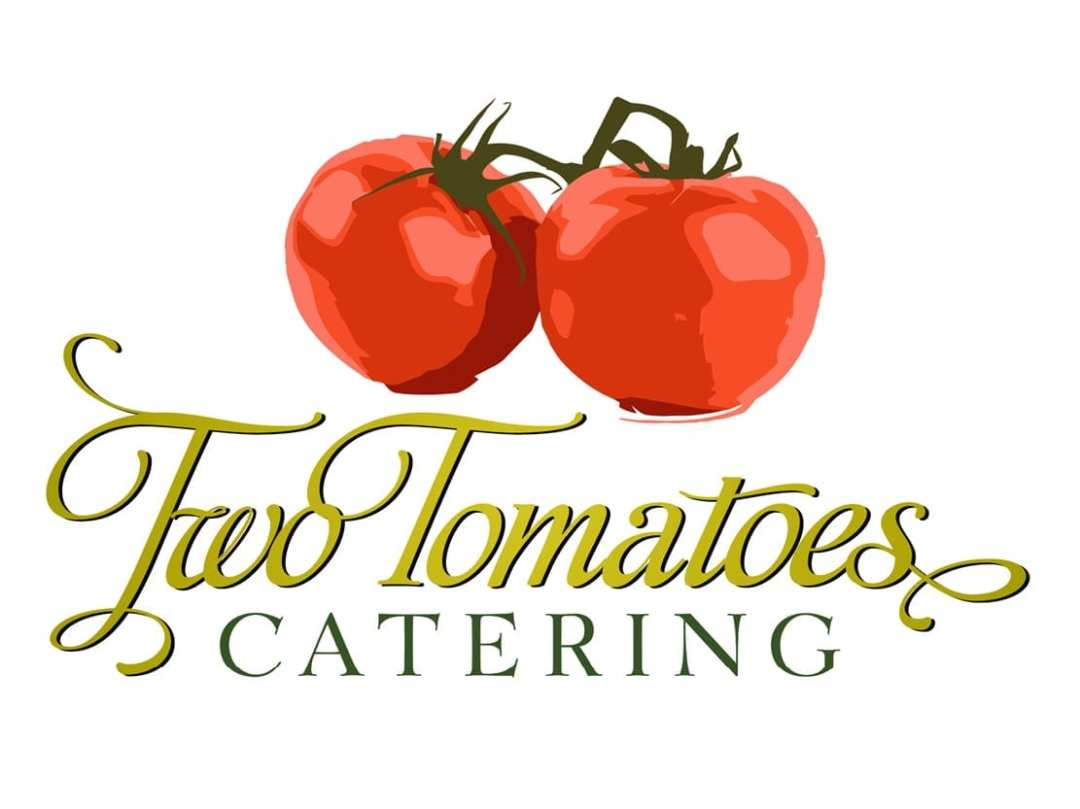 Two Tomatoes Catering Logo