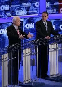 John McCain e Mike Huckabee