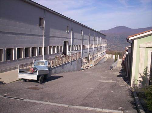 L'ecomostro del Cimitero di Genzano di Roma