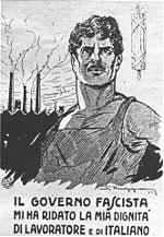 Manifesto di propaganda fascista