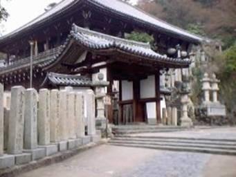 Uno stupendo monumento di Nara, Giappone