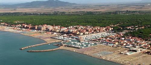 Il porto di Marina di Grosseto