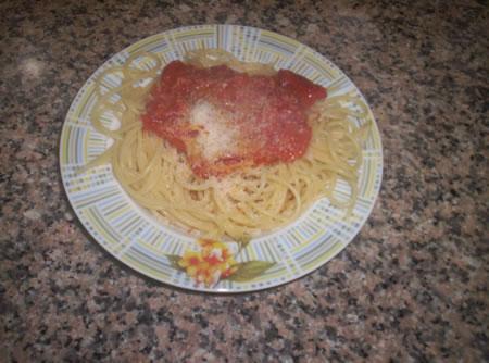 Gli spaghetti con il caciocavallo lucano al peperoncino