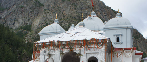 Temple à Gangotri, Inde, photo Infinite Love
