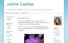 Site web de Justine Caulliez conseillé par Infinite Love