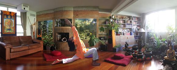 Deepu, enseignant yoga et méditation pour Infinite Love