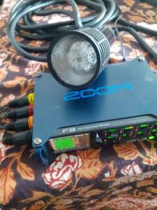 Brahma-8 with Zoom F8