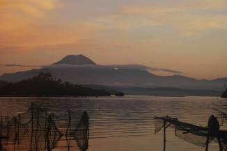 Mt Bulusan viewed from Subic Daku