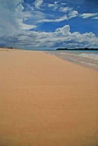 Pink sands of Tikling