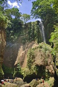 Finally, our prize: Ambon-ambon Falls!