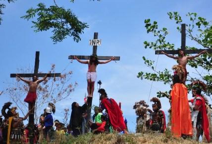 Jesus and Longinus