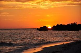 ... sunset.