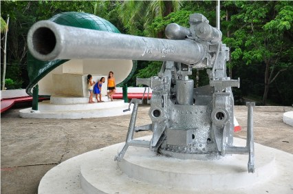 At the heart of Brgy. Abong-Abong is the Freedom Park -- home to some military relics, twin artillery guns, and the final resting place of Zamboanga's most colorful leader, Mayor Cesar Climaco, who was gunned down in 1984.