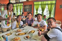 Savoring Tacurong's age-old merienda recipes at Fortune Place. Thanks Tacurong City Tourism Office!