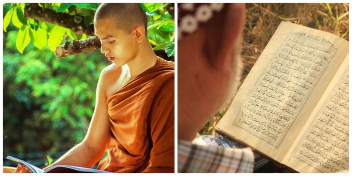 similarity between Theravada Buddhism and Islam