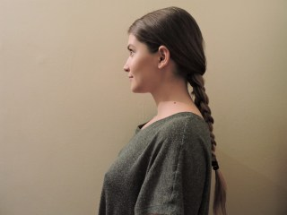 Simple down the back Braid