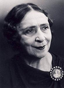 Actrita Maria Filotti din Braila