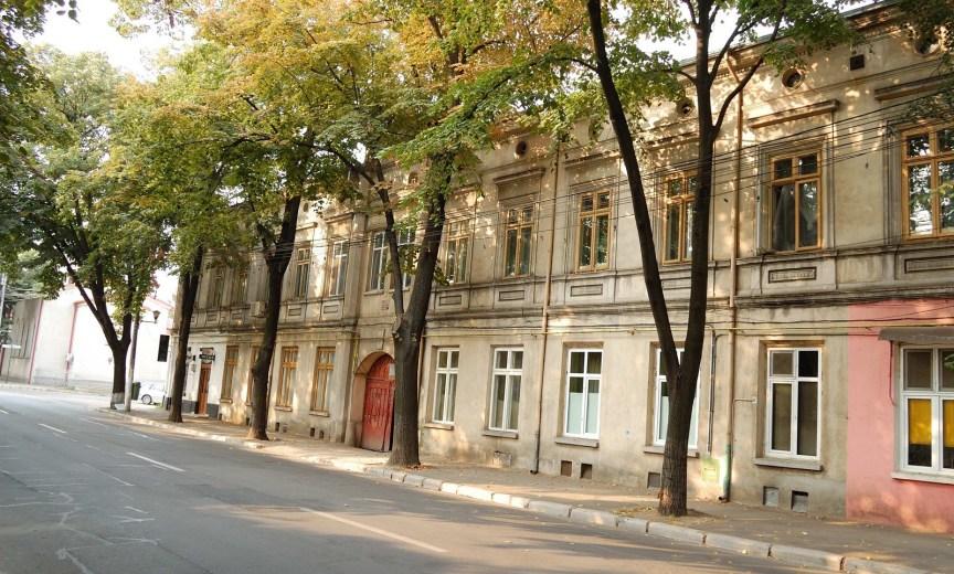 Braila - Strada Bisericii catolice (fosta Bisericii, pana in 1885)