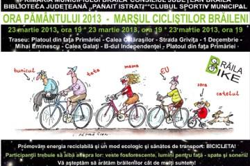 Eveniment - Marsul ciclistilor braileni