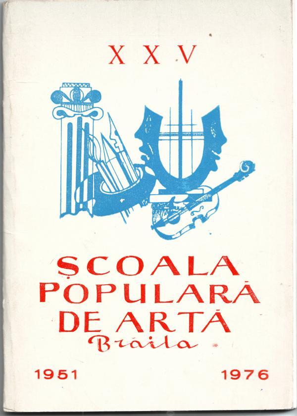 Coperta Monografiei la 25 de ani