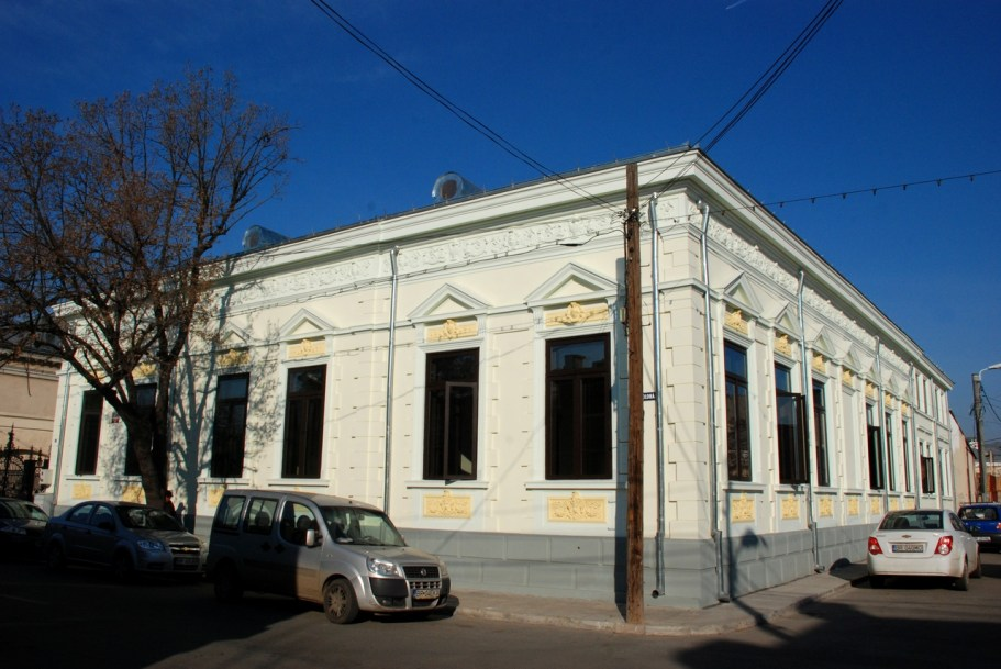 Casa Alexiu, monument istoric, recent renovata