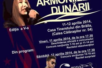Concurs national de muzica usoara pentru copii Armoniile Dunarii