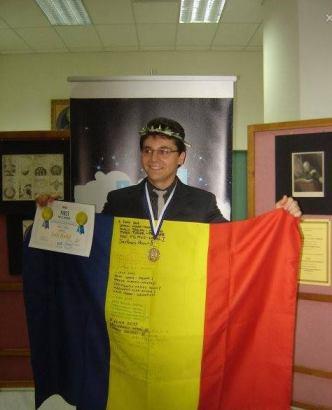 Denis Turcu – Cel mai bun elev din lume la Astronomie si Astrofizica