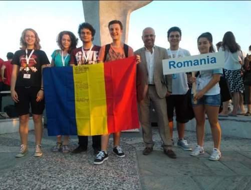 Echipa Romaniei de la Olimpiada