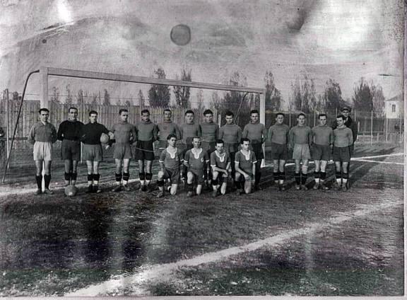 Echipa braileană Franco-Română Brăila - anul 1938