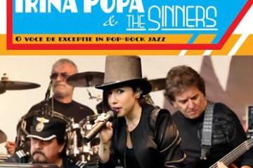 Irina Popa & The Sinners sustin un concert la Teatrul Maria Filotti