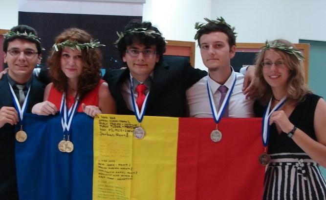 Premiantii Olimpiadei