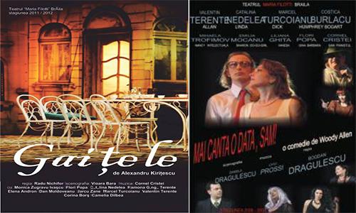 Teatrul Maria Filotti repune in scena doua mari comedii