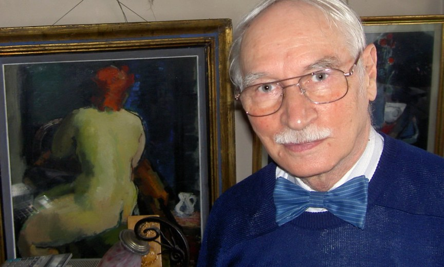 Vasile Parizescu - Pictor si colectionar de arta