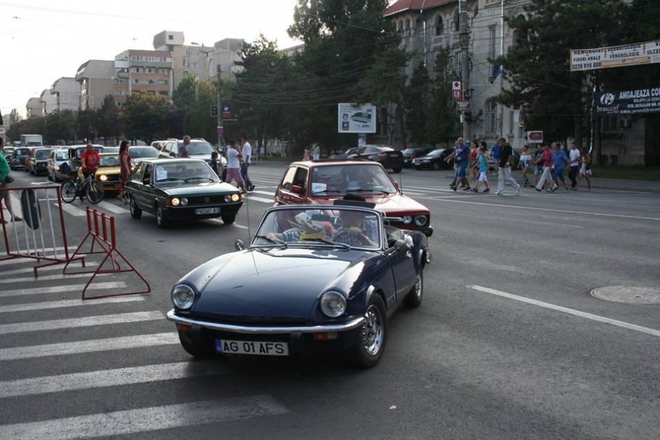 Parada masinilor de epoca de zilele Brailei, calarasi