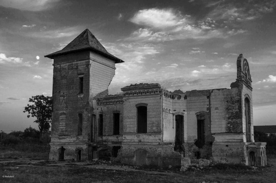 ruinele conacului Orezeanu